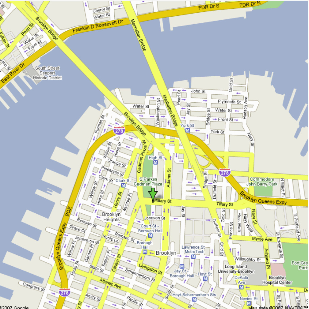 Bankruptcy Information – Street Maps of New York City