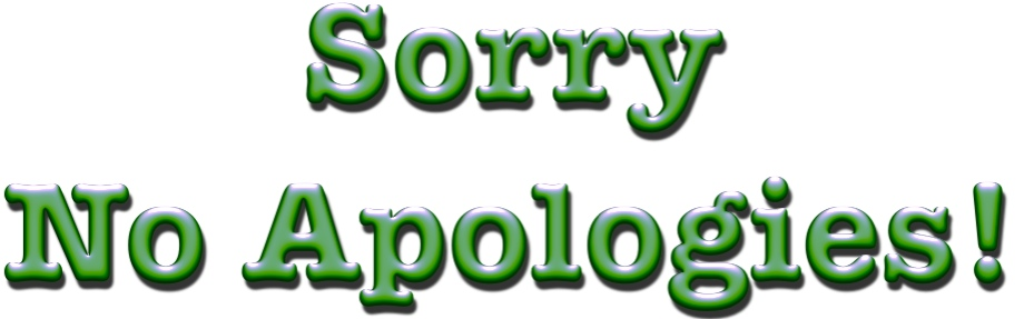 Apologize For Filing Bankruptcy?  Never!