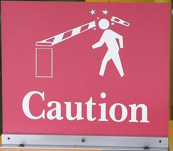 caution sign cropped