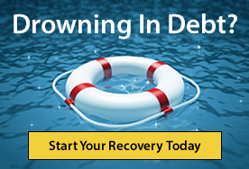 drowning in debt?
